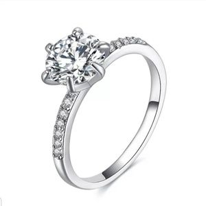 Classic Engagement Ring New Size 6
